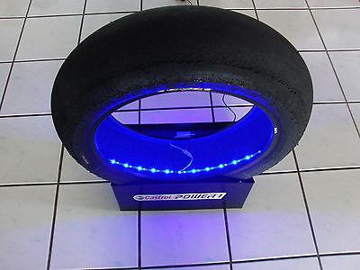 Moto GP /Superbike Slick/Rennreifen mit LED Beleuchtung