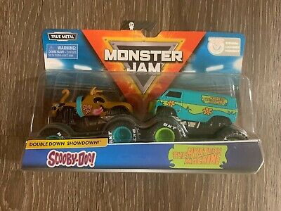 New! Monster Jam Scooby Doo vs The Mystery Machine by Spin Master