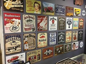 Retro Style Tin Signs
