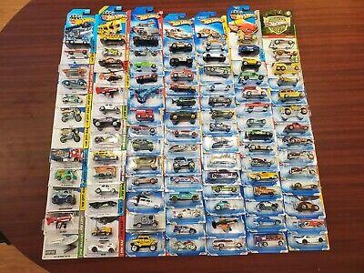 Lot of 96 Hot Wheels Mostly 2010 Ecto-1, Mystery Machine 1:64 Cars BNIB