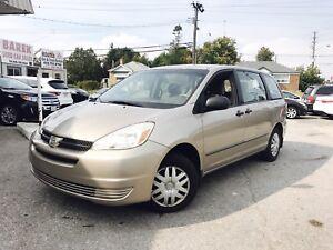 2004 Toyota Sienna CE | 1 YEAR WARRANTY • 1 OWNER / CERTIFIED **