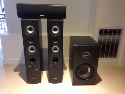 Jensen HT Speaker System