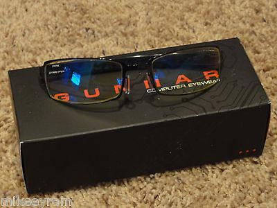 Gunnar Optiks PPk Advanced Computer/Gaming Eyewear - Gloss Onyx - Amber