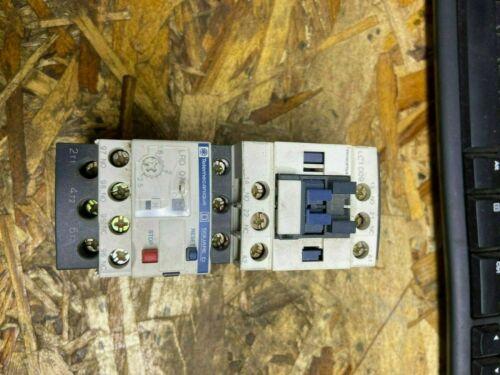 TELEMECANIQUE SQUARE D Electric Contactor LC1D09/LRD07
