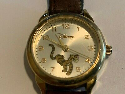 Vintage Disney Tigger Quartz Analog Ladies Watch
