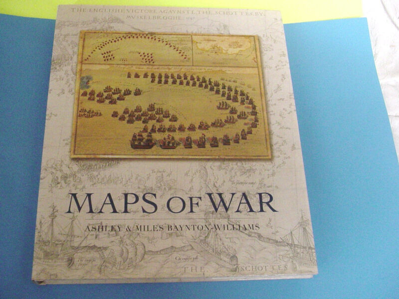 Maps of War Coffee Table Book Reproductions of War Maps Over 500 Years 2007