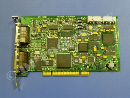 National Instruments PCI-7350 Motion Controller Card, 2-Axis, Stepper & Servo