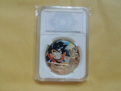 WORTH DRAGON BALL Z . 24KT GOLD COIN WITH COA! MINT! BRAND NEW!