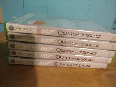 x5 James Bond 007: Quantum of Solace - Xbox 360 Wholesale lot 5 Copies