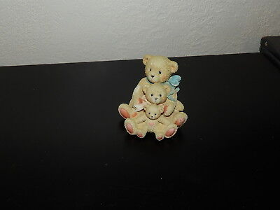 Cherished Teddies Theodore, Samantha, Tyler 950505 Friends Come In All Sizes