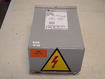 Ge General Electric 9t51b0511 Transformer 1.5 Kva 240480v 120240v 9t51b