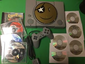 Ps1 Console ***Modded*** + Top Games -great shape 9/10 Cheap!
