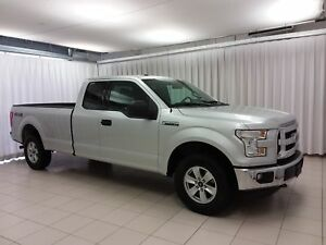 2016 Ford F-150 F150 XLT 4X4 XCAB WITH 8' BOX 6 PASS