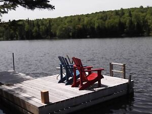Beautiful lakefront chalet for rent