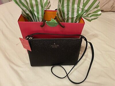 Kate Spade Glitter Cross Body Bag New With Tags & Bag