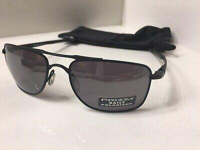 Oakley GAUGE 8 (OO4124-02 57) Matte Black with Prizm Black Polarized Lens