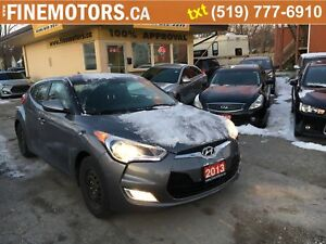 2013 Hyundai Veloster Low Km/set of summer tires with rims inclu