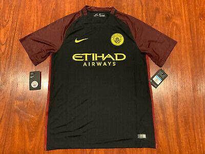 2016-17 Nike Manchester City Men's Away Soccer Jersey Medium M Man City image