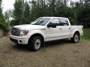 2012 Ford F 150 SuperCrew Platinum