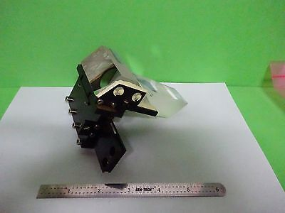 Microscope Part Polyvar Reichert Leica Head Prism Assembly Optics As Is Bw3-17