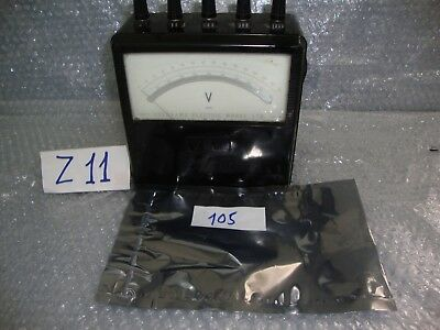 Vintage Yokogawa Electric Works 1000v Portable Voltmeter 1972