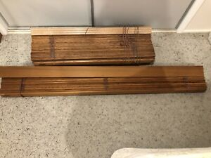 Cedar Timber Blinds (8 Sizes various $) - Custom Made & High Quality