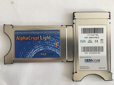 Alphacrypt Light CAM Modul Rev. 2.2 Version CI+ HDTV Sky HD+ One4All ready online kaufen