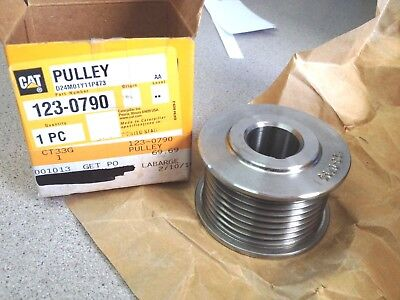 Genuine Oem Caterpillar Cat Pulley 1230790 123-0790 Original Box New Old Stock