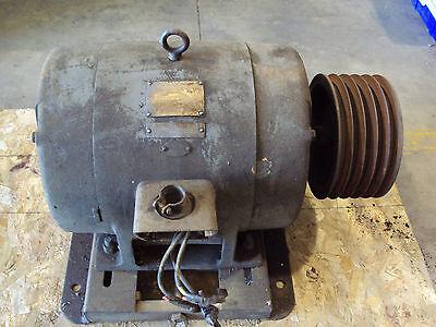 Ge General Electric 30 Hp 3 Phase Motor Frame 326u 440 Volt Rpm 1770 Amps 37