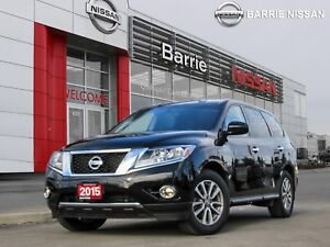 2015 Nissan Pathfinder S SIZABLE PEOPLE MOVER SUV