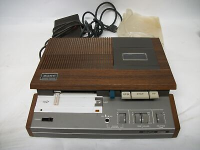 Sony Secutive Transcriber Bm-34 With Foot Pedal And Cover