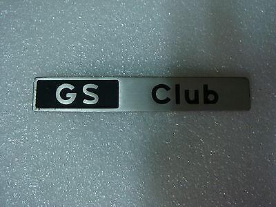 ANAGRAMA CITROEN GS CLUB - REF GS CLUB