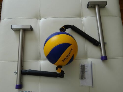 Volleyball Spike & Hitting Serving Trainer. Purple.