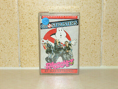 Ghostbusters - Commodore 64/128 Game Cassette - Mastertronic 1984 (Lot 2)