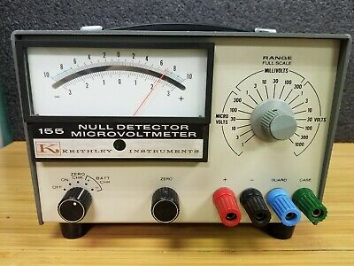 Keithley Instruments 155 Null Detector Microvoltmeter M-102