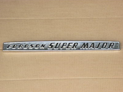 Metal Fordson Emblem For Part E1addn16605f