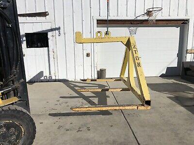 Industrial Heavy Duty Overhead Crane Pallet Pickerlifter 83 Wide 44 Forks