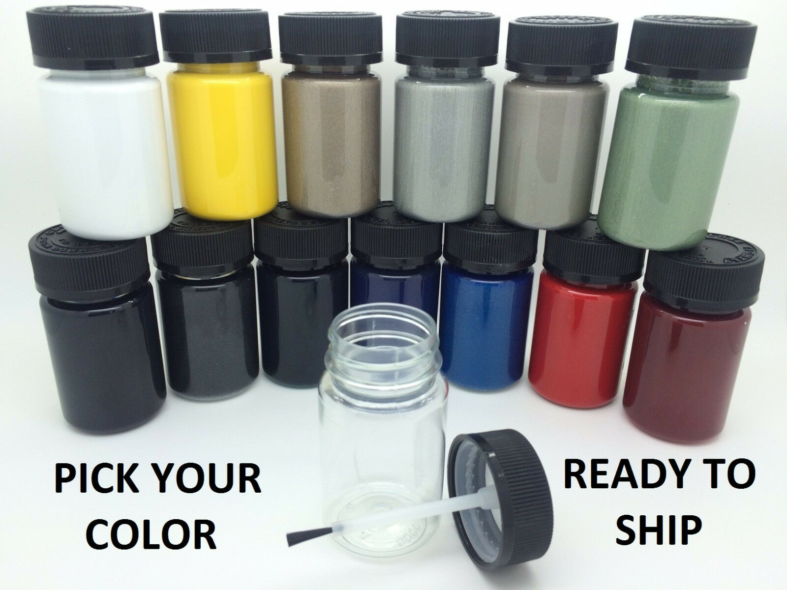 PICK YOUR COLOR -  Touch up Paint Kit w/Brush for FORD CAR/TRUCK/SUV