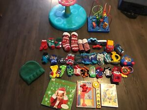 HUGE LOT TOYS THINGS FOR TODDLER BOY TONS OF SOCKS