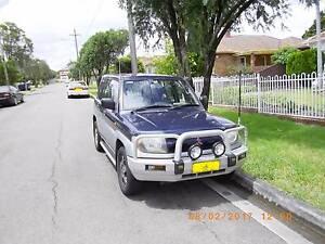 1999 Mitsubishi Pajero Wagon (AWESUM STREET MACHINE) Auburn Auburn Area Preview