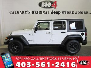 2014 Jeep Wrangler Unlimited Willys | AUTO | Subwoofer
