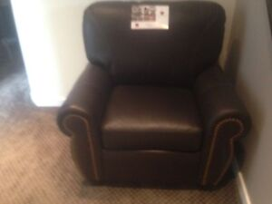 Brown Leather Chairs - BRAND NEW