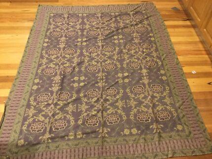 Laura Ashley Italian made throw rug/ tapestry