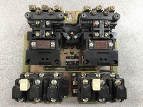Allen-Bradley Two Speed Starter 715-AAD11 Series L Size 0 120V Coil