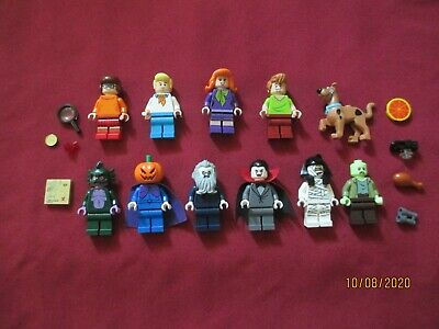 LEGO Scoobydoo Minifigures Lot.Velma,Fred,Daphne ,Shaggy,Scooby,Villians ETC