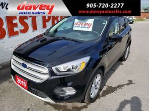 2018 Ford Escape SEL LIKE NEW CONDITION!!  4X4, NAV, SUNROOF,...