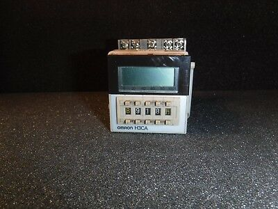 Omron Timer H3ca-a 24-240vac 5060hz 12-24vdc Used With Socket