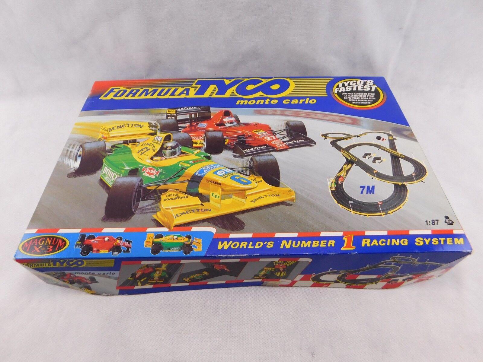 TYCO Rennbahn Magnum X-3 Formula Monte Carlo,  mit OVP,  Slotcar Bahn H0 1:87 #2