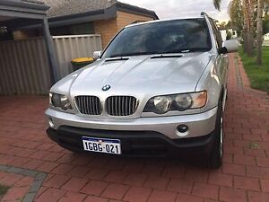 Bmw 2002 X5 3.0l petrol low kms Cannington Canning Area Preview