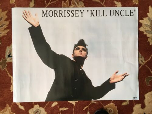 MORRISSEY  Kill Uncle  rare original promotional poster from 1991